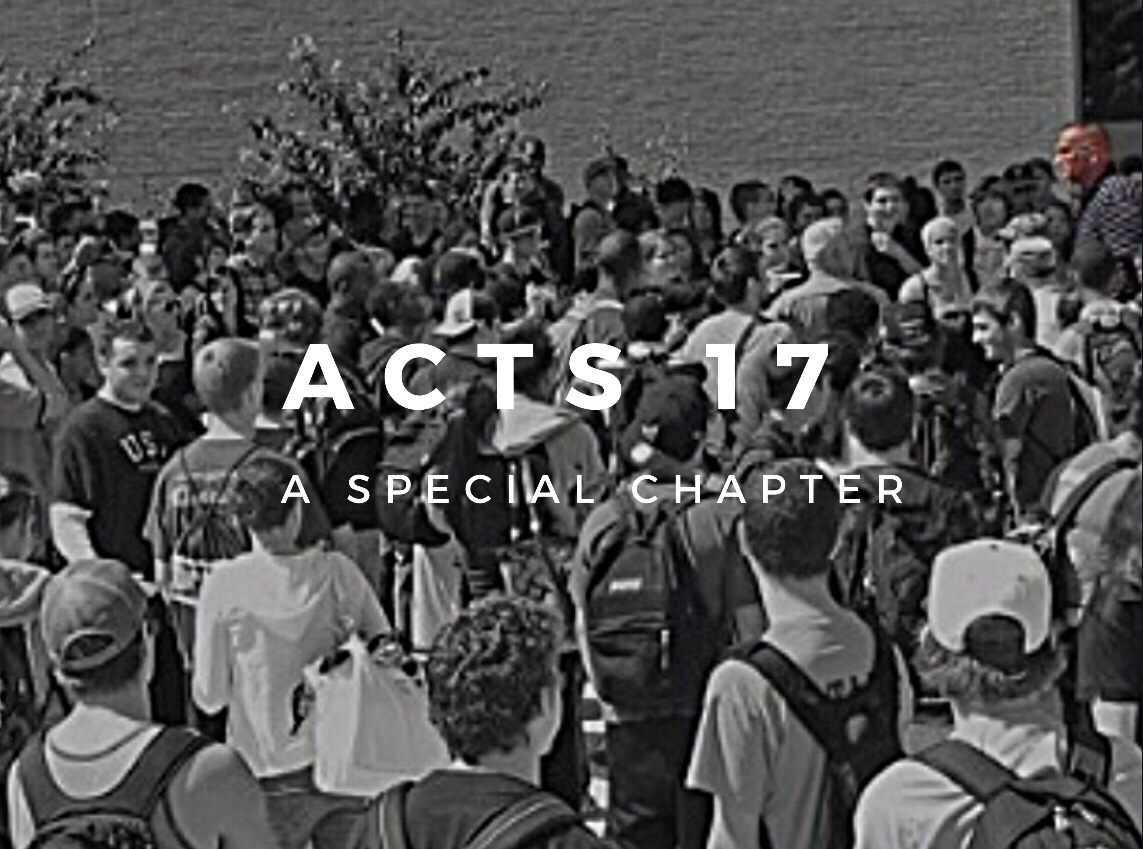 Acts 17... A Special Chapter